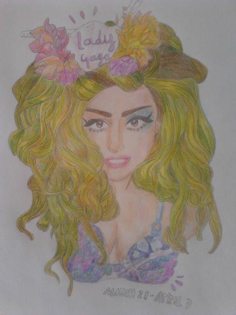 Lady Gaga by giu